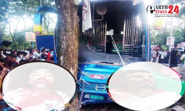 বরিশালে সাকুরা পরিবহনের চাপায় দুই মোটরসাইকেল আরোহী নিহত
